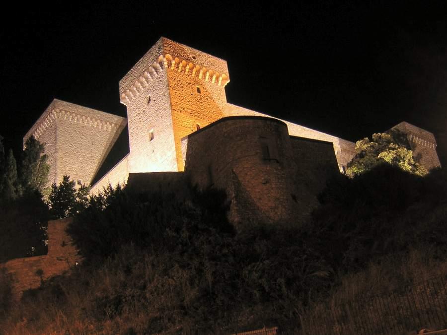 Narni. La Rocca ed il fantasma del castello