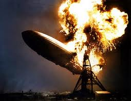 Disastro Hindenburg: esplosione causata da una carica elettrostatica