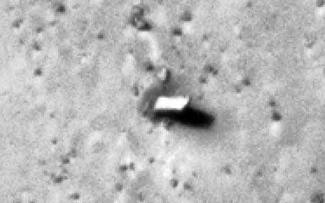 Monolite sul suolo di Marte?