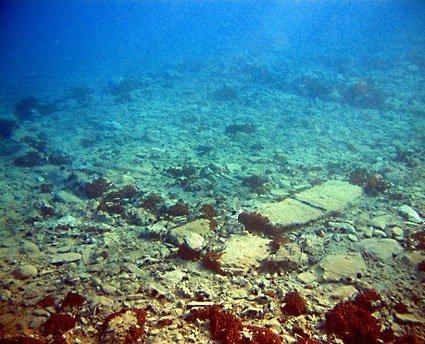 Pavlopetri: antica città sommersa