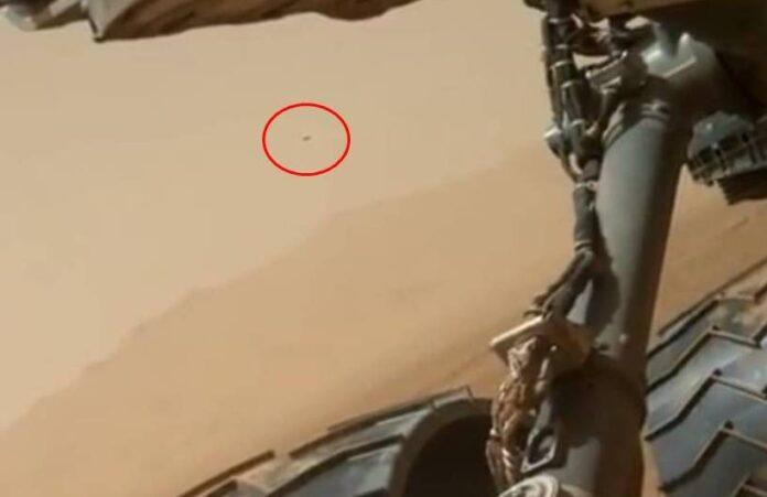 ufo marte curiosity 1