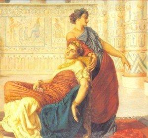 La tomba di Cleopatra e Marco Antonio