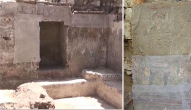Scoperta insolita struttura con la possibile e più antica rappresentazione di Gesù