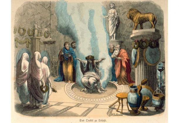 L'oracolo di Delfi