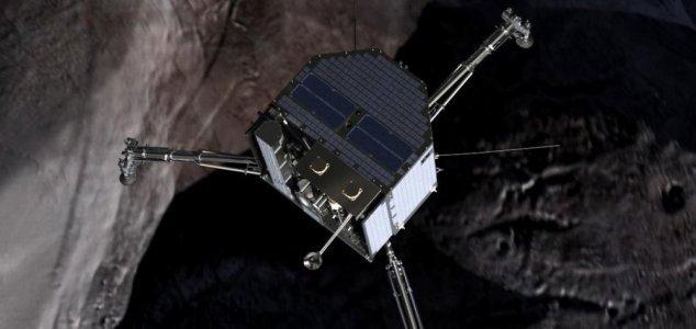 La sonda Philae atterra con successo sulla cometa 67P