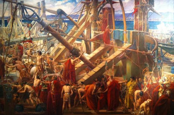 Archimede-difesa-Siracusa