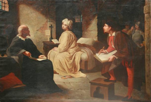 prigionia-di-Beatrice-Cenci