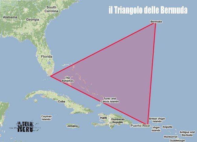Piramide nel Triangolo delle Bermuda