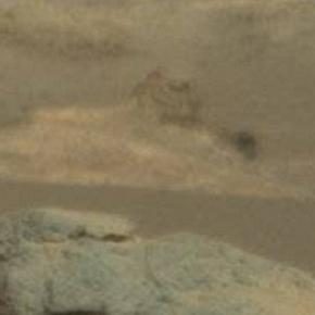sfinge egizia sulla superficie di marte