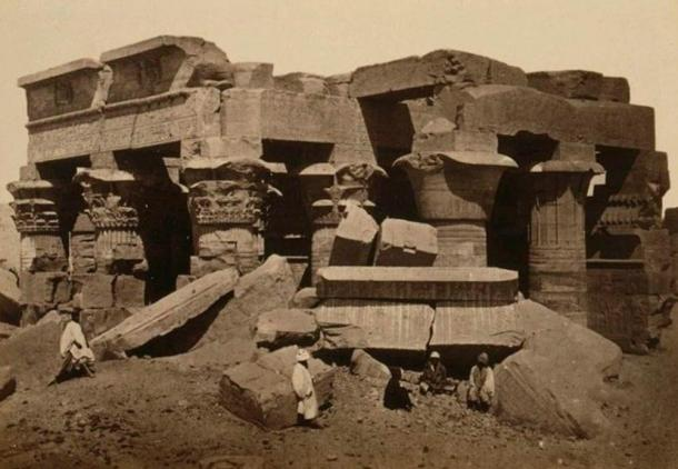 Kom-Ombo-Tempio-prima-restauro