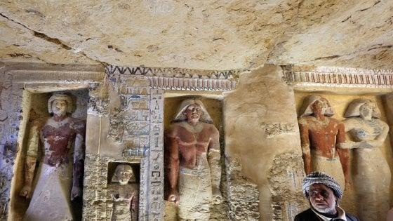 EGITTO. SCOPERTA TOMBA CON GEROGLIFICI INTATTI