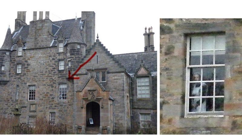 Fantasma fotografato in uno storico castello scozzese.