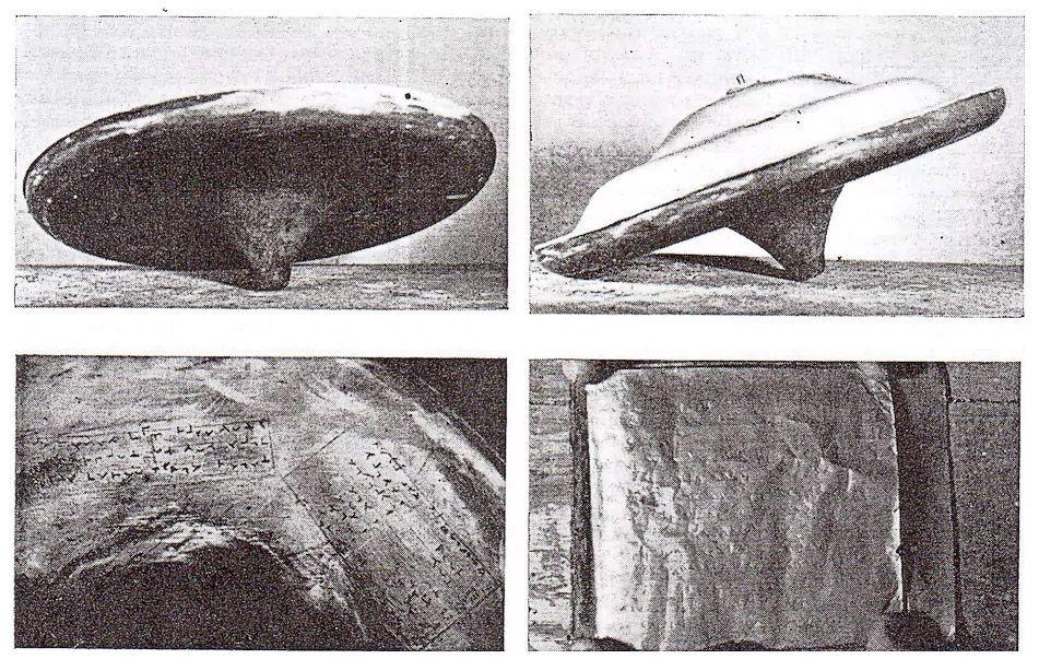 """Ritrovati frammenti di un """"disco volante"""" al Museo delle Scienze di Londra"""